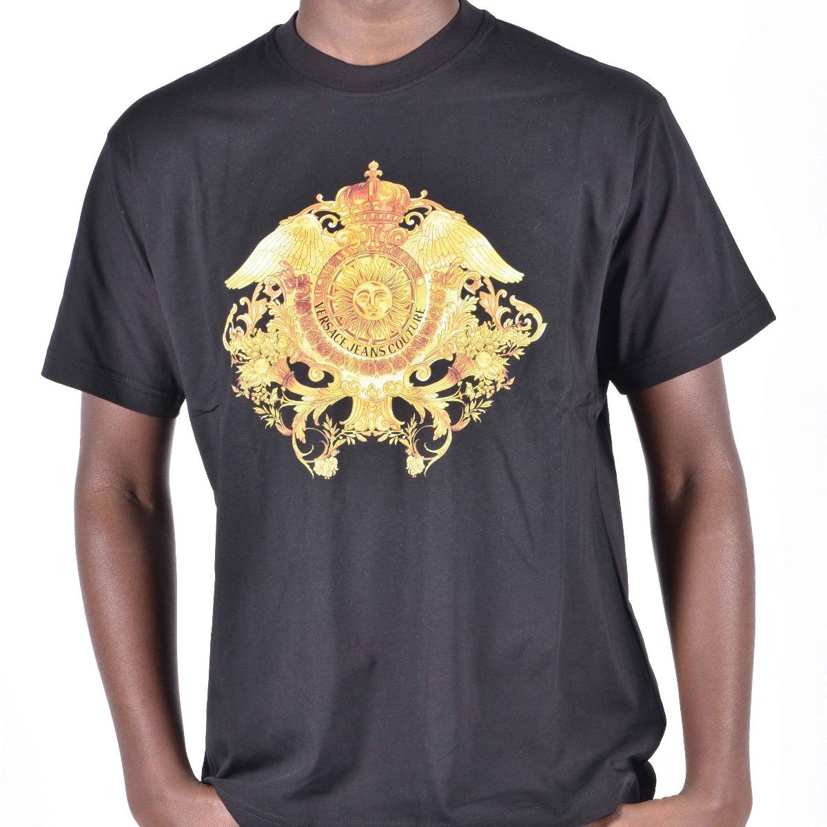 T-shirt logo alato - Nero