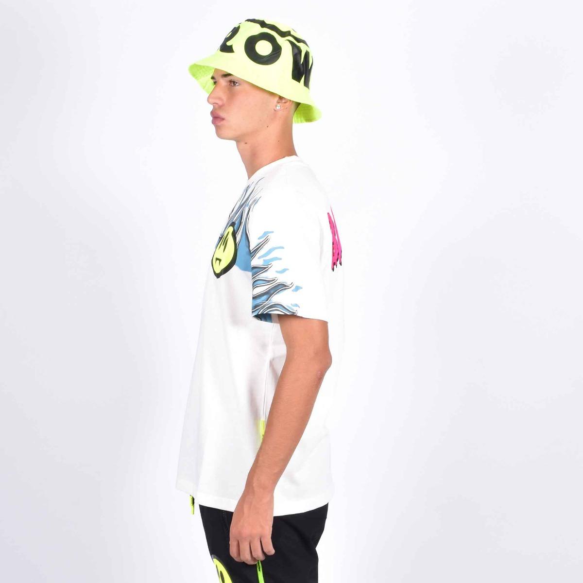 T-shirt st fiamme - Bianco