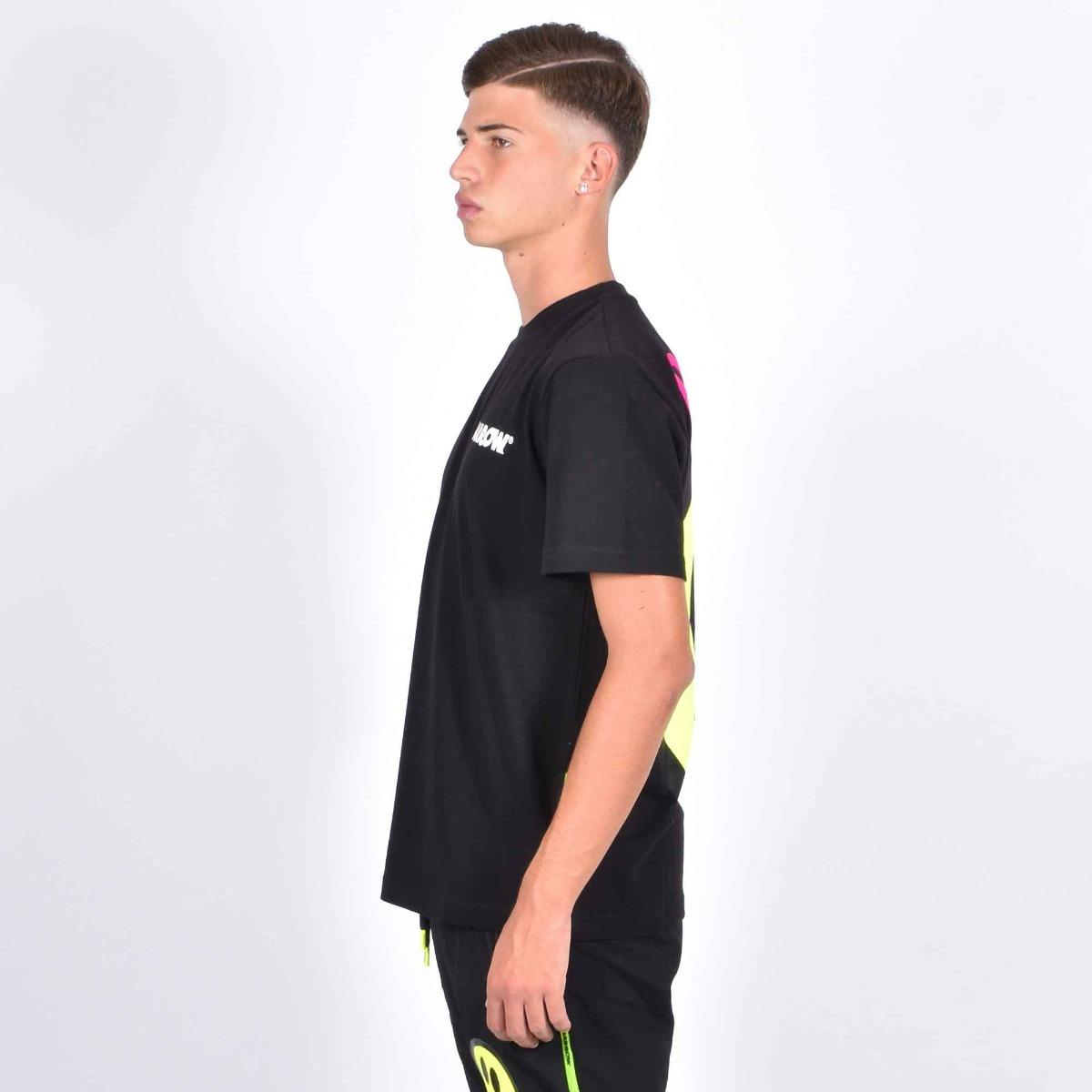 T-shirt scritta flok - Nero