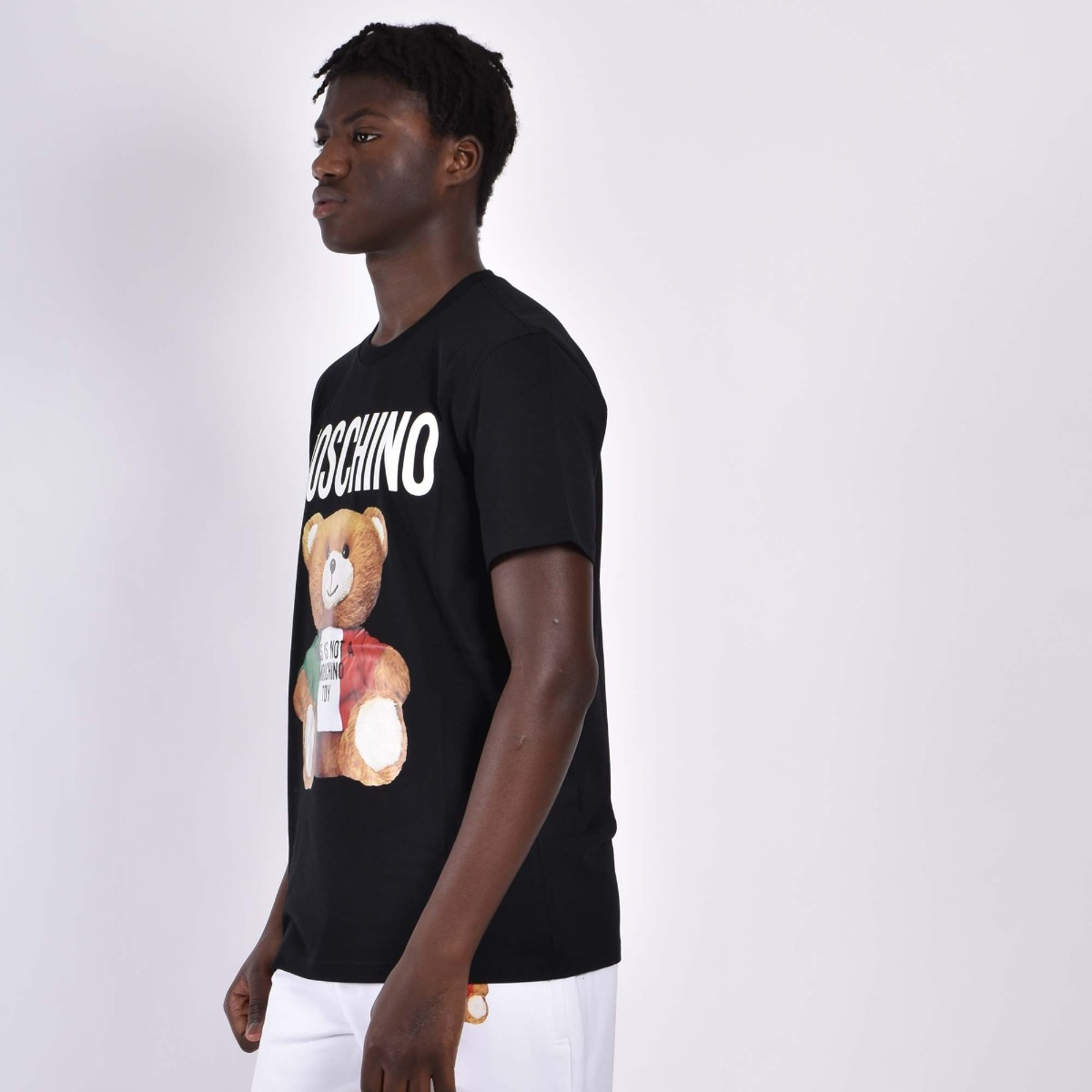 T-shirt orsetto italy - Nero